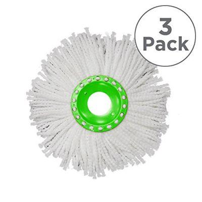 Whizz Mop Spare Mop Head Triple Pack Bundle