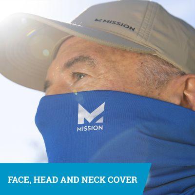 Mission Cooling Neck Gaiter Mask