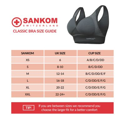 Sankom Bra 3 Pack