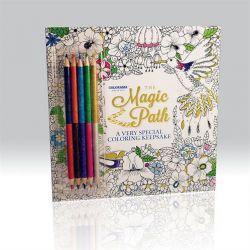 Colorama Magic Path Mindful Colouring Book