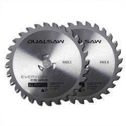 Dual Saw Tungston Blades