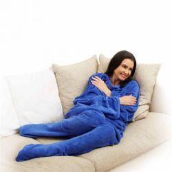 Footsie Blanket With Sleeves