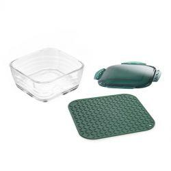 Nicer Dicer Chef - Glass Bowl and Mat