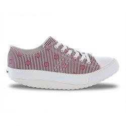 Walkmaxx Leisure Shoes Print Stripe Grey 41